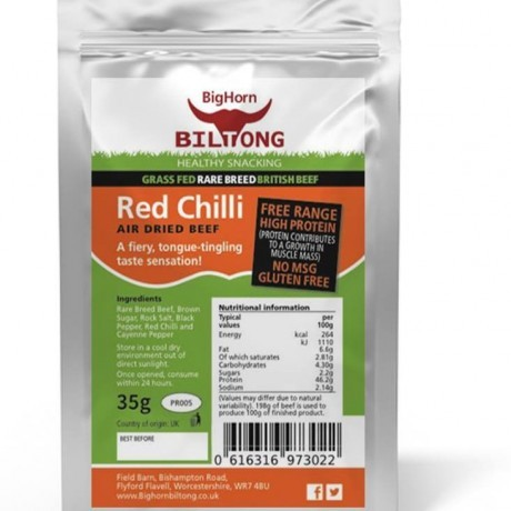 Biltong Red Chilli Flavour