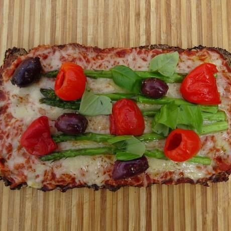 Pizza up close