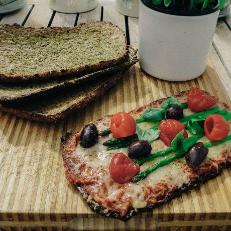 Divine CauliCrust pizza. So healthy and so tasty
