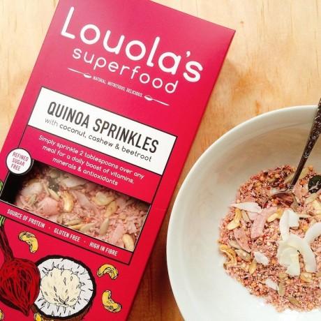 Coconut, Cashew & Beetroot Quinoa Sprinkles