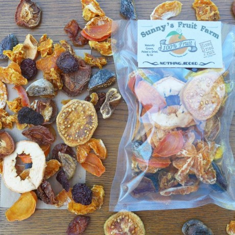 Organic Mixed Dried Fruits - No Preservatives