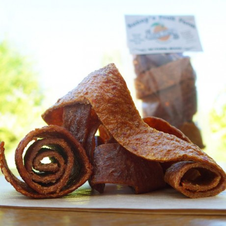 Orange, Persimmon, Plum & Peach Fruit Leathers - Fruit Rollups