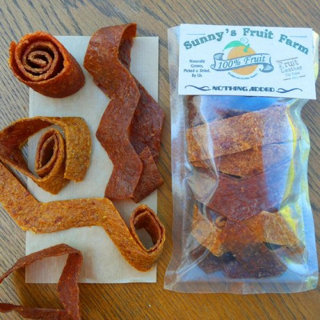 Orange, Persimmon, Plum & Peach Fruit Leathers - Fruit Rollups