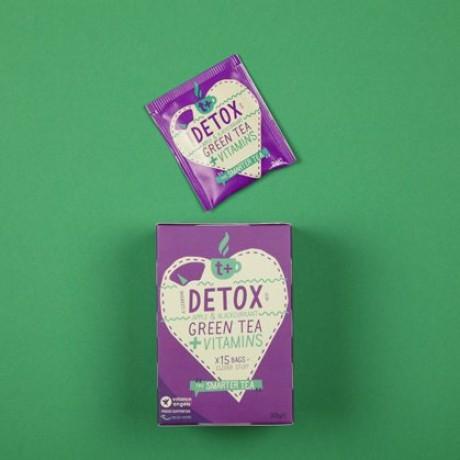 t + Detox vitamin super tea (4 Pack)