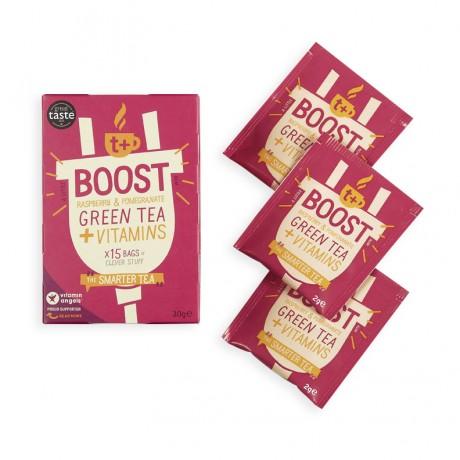 t + Boost vitamin super tea (4 Pack)
