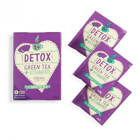 t + Detox vitamin super tea (4 Pack)