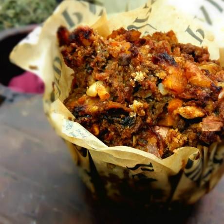 Wild Mushroom Nut Roast
