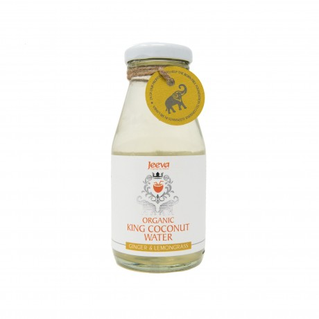 Organic King Coconut Water Ginger & Lemongrass