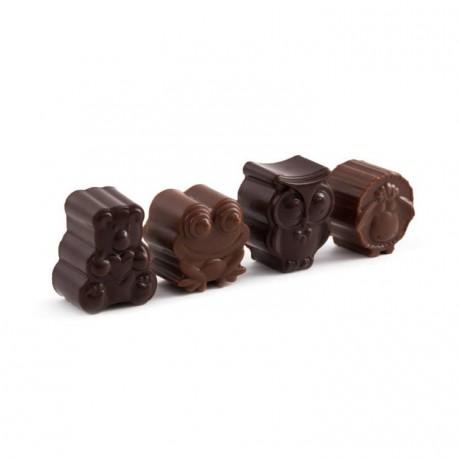 Dairy Free Orange Rice Milk Chocolate Frogs (12 mini packs)