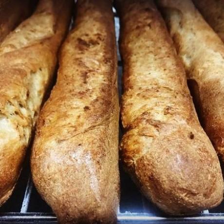 Gluten free sourdough baguette