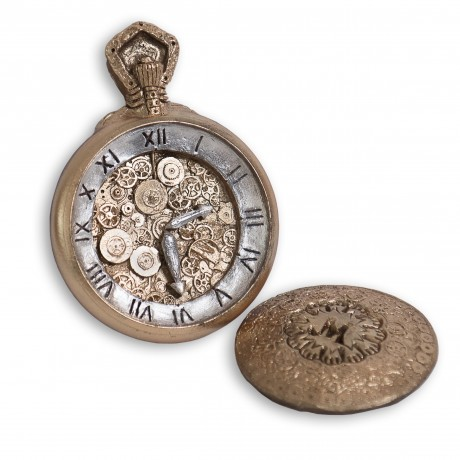 Chocolate Pocket Watch
