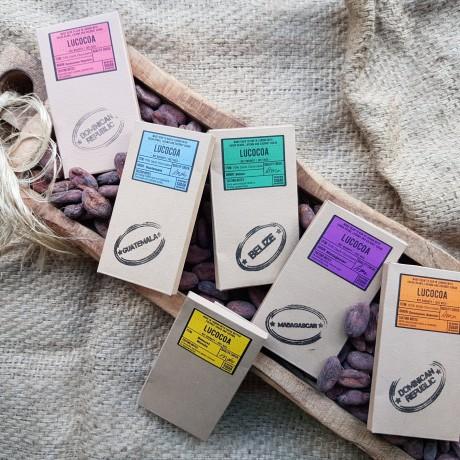 Single Origin Bean to Bar Chocolate Selection (6 bars)