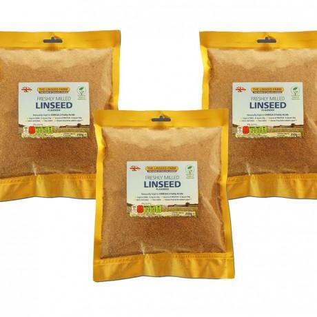 Freshly Ground Linseed Meal (3 pack)
