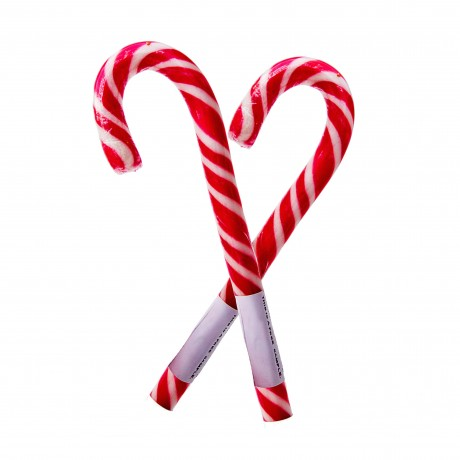 Handmade Vanilla Candy Cane (Red & White)