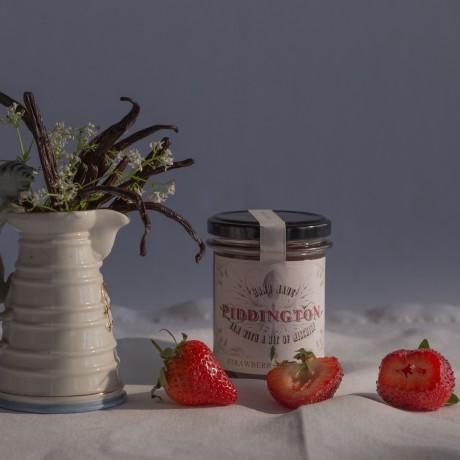 Strawberry and Vanilla jam