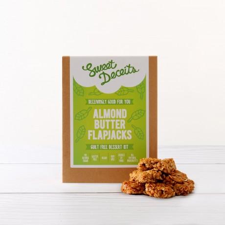 Almond Butter Flapjacks