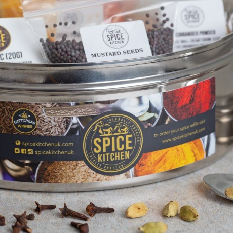 Indian Spice Tin Masala Dabba
