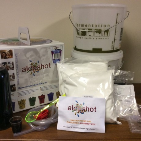 Blueberry kit showing contents