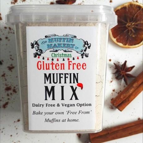 Gluten Free Christmas Muffin Mix
