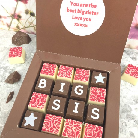 Personalised Message Chocolates for Big/Lil Sis