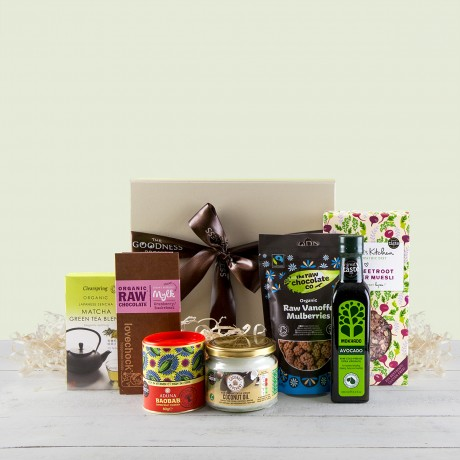 luxury superfood hamper detail