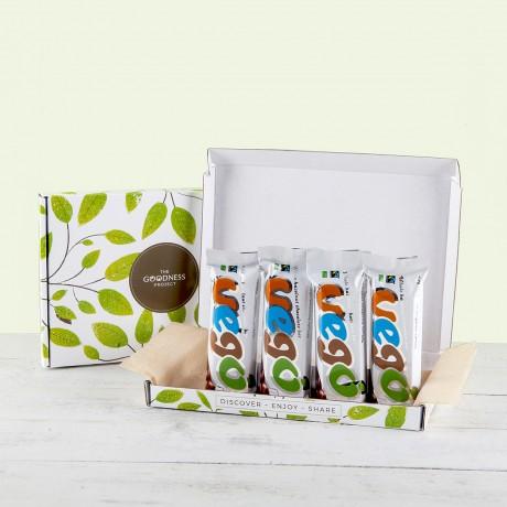 4 Mini Vego Whole Hazelnut Vegan Chocolate Bar Snack Pack