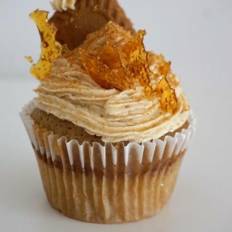 Caramel Diaz Cupcake