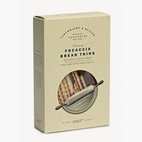 C&B Rosemary Foccaci Bread Thins