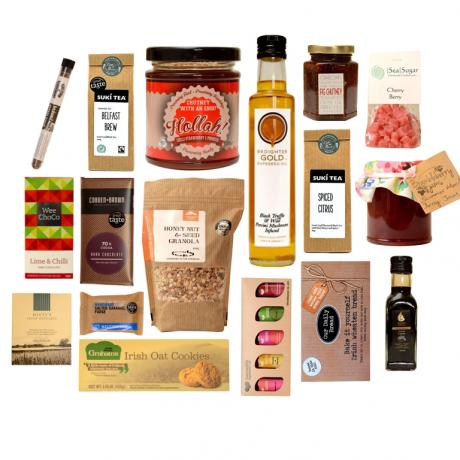 Gourmet artisan food box