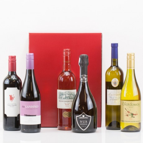 Six Wines in a Box from Natures Hampers