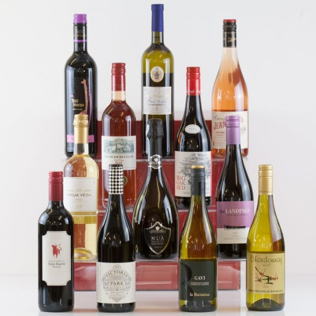 Twelve Wines in a Box from Natures Hampers