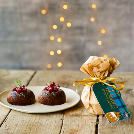 McLaren's Luxury Christmas Puddings - 2 Individual Puddings