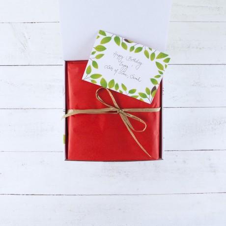 Vegan Love Chocolate and Snack Hamper Gift Box