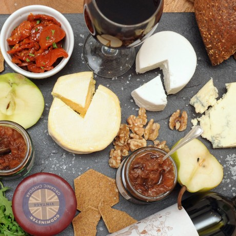 The Ploughman's Supper Box with tasting notes
