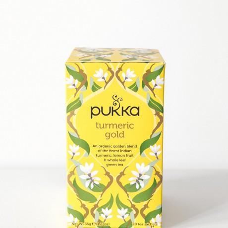 Pukka Tumeric & Gold tea