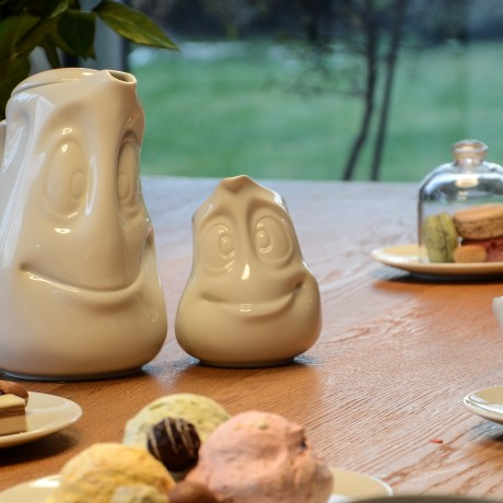 Small Jug on the table with his friend the Tea Pot