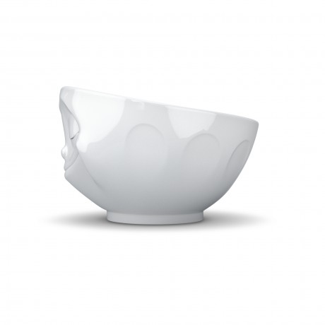 Side view of the 'Happy' Porcelain Bowl