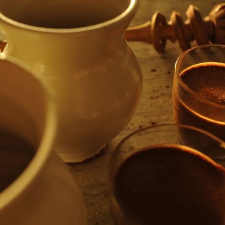 Make a Maya, Aztec, Spanish, Italian chocoalte drink