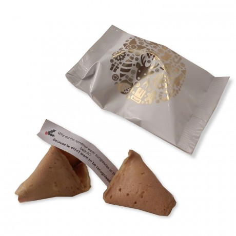 150 Personalised Christmas Fortune Cookies