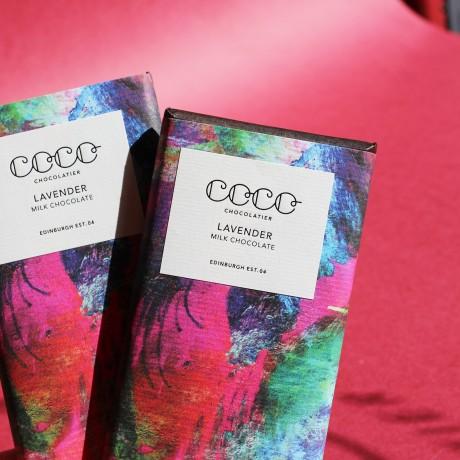 Artisan Lavender Milk Chocolate Bars (3 Pack)