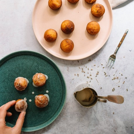 Gluten-free and Dairy-Free Mini Lavender and Honey Cakes