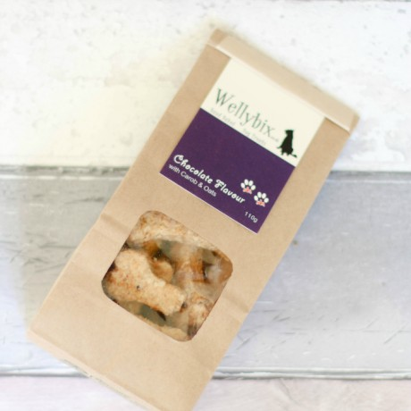 Hand Baked Dog Treat - Carob with Oats (3pack)