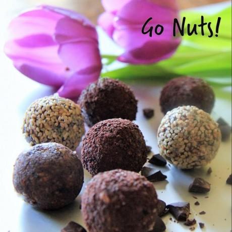 GoNuts! Cinnamon Healthy Fruit & Nut Snack Balls