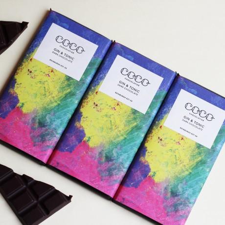 Artisan Gin & Tonic Chocolate Bars (3 Pack)