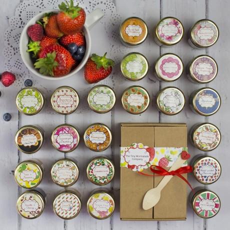 Gourmet Jam And Marmalade Taster Box