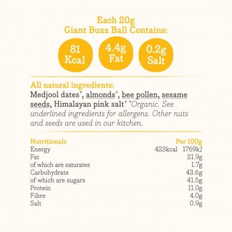 Nutritional information & ingredients