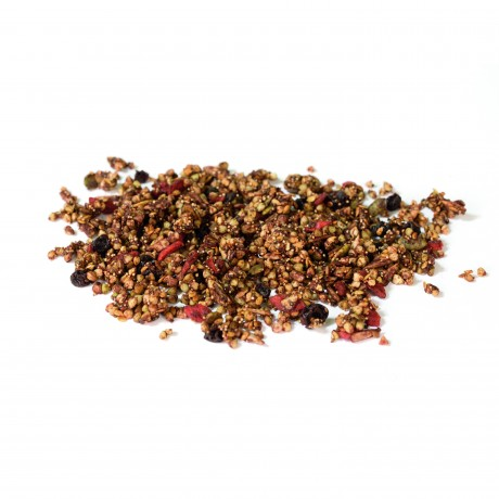 Cacao and Goji Crunch Granola Raw