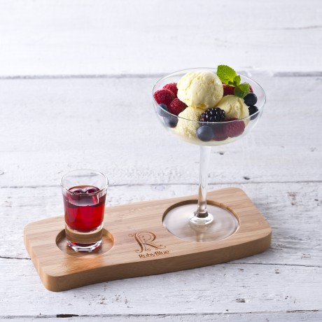 RubyBlue Serving Board is great for Desserts