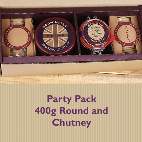 British Cheese & Chutney Party Pack