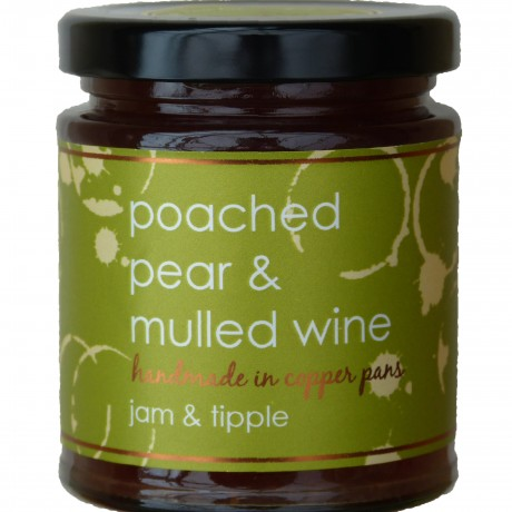 Poached Pear & Mulled Wine Jam (3 pack)